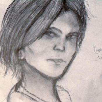 Gerard Way (quick sketch) by snowflake20006