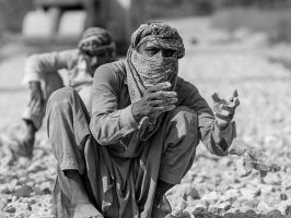 Working The Old Way by InayatShah