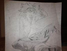 Art Project: FLCL Haruko by Dillon-the-hedgehog