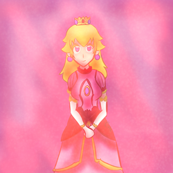 Princess Peach: The Lady of Gaming by CixalE