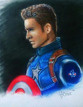 Captain America by AllanBrix