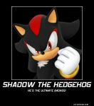 I am the Ultimate Lifeform Shadow The Hedgehog by Megamansonic on ...