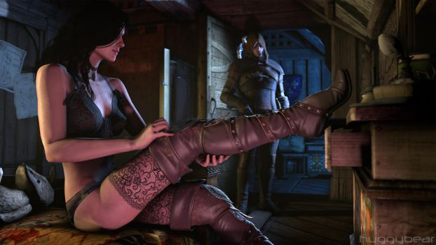 Witcher's Creed - Yennefer's Seduction [CLEAN] 1/5 by HuggyBear742