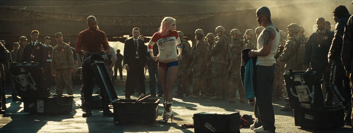 Center of Attention - Harley Quinn - Suicide Squad by PlanK-69