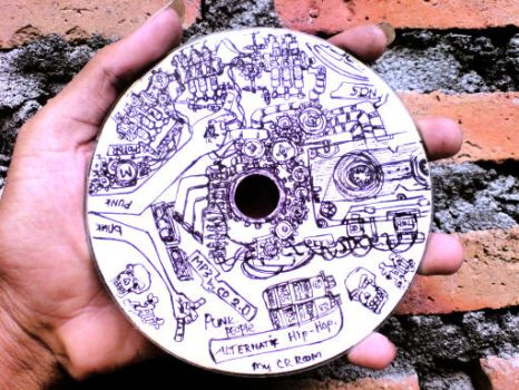 Art On the CD by jalilvampire