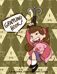 Gravity Falls - Mabel Pines by caycowa