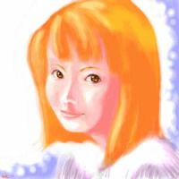 oekaki 54 orange hair by manzo
