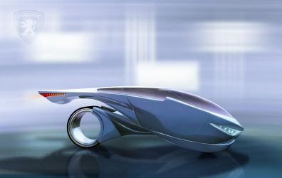 Peugeot 69 Concept Car n2 by Digoma