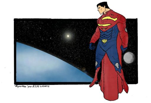 Superman by JohannLacrosaz