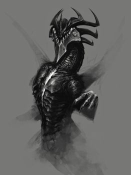 Death sketch by Tapwing