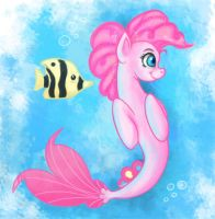 Pinkie Pie seapony by Kamel21