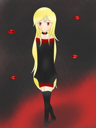 The witch of the eyes - Creepypasta Oc by KillerQueen090