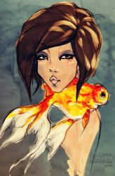 poisson rouge by guava