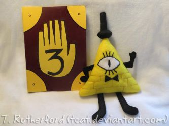 Plush - Bill Cipher by tcat