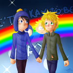 IT'S OKAY TO BE GAY (CREEK) by DioLorette