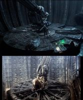 Alien Prometheus compare chair by YikYik