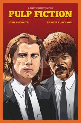 Pulp Fiction Illustration Poster by AdamKhabibi