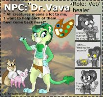 NPC Entry 6th| Dr.Vava by TheWarriorDogs