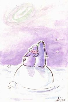 Neutrino fields and Penguins by littleguineapig