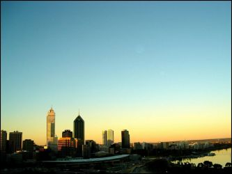 Perth Sunset by coathanger007