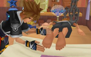 MMD - Sora messing with Roxas by 93connector