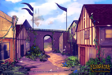 Furcadia: CC Town Background by fang