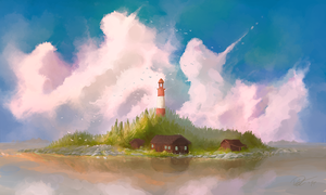 Lighthouse by Patriartis