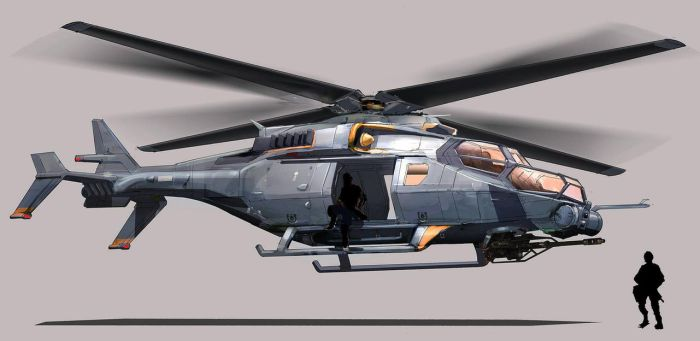 FUSE Transport Helicopter by MeckanicalMind