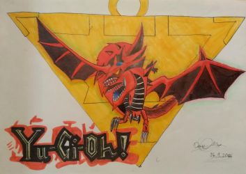 Slifer the sky dragon by DaniCopic