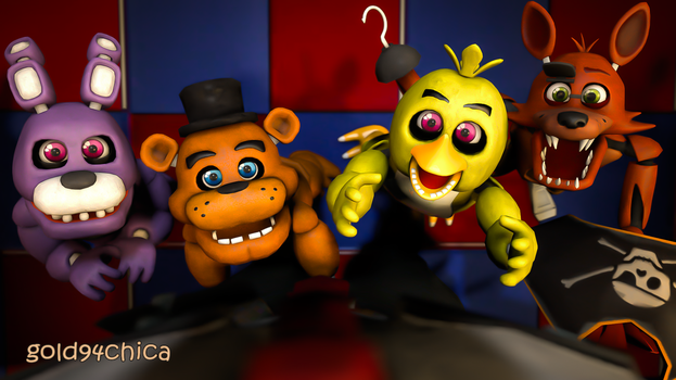 Who WOULDN'T want to spend 5 nights @lil Freddy's? by gold94chica