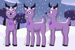 Reindeer Amethyst [Transformation] Commission by MarkHoofman