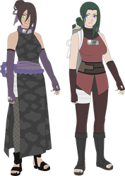 Oto and Kusa adoptables by zombie-adoptables