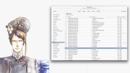 Minimal Theme for iTunes 11 (Mac) by k-profiler