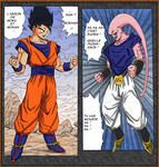 gokhan vs buuvegeta final by Naruttebayo67