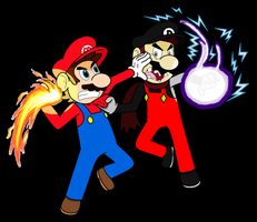 Mario Vs. Dario by JBX9001