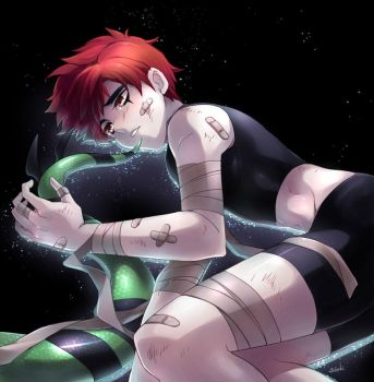 Chase Young x Jack Spicer by sdaki