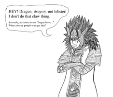 Five Days of Fire Emblem Day 3: Dragon Not Lobster by snowcloud8