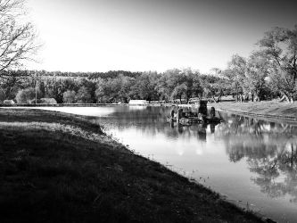 A pond by Pauline-graphics