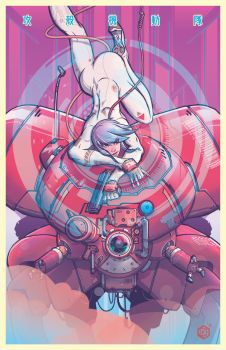 Ghost In The Shell  New 2 Rgb by seanplenahan