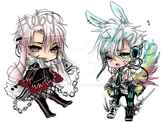 Bunny Boys Adoptables Open for Auction (closed) by shrimpHEBY