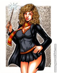 Hermione commission by gb2k