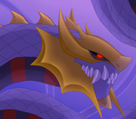 Toothie Giratina or Riot by GoldieClaws