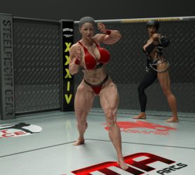 AOMMA VR -2 - One last fight (2d +vr) by muscl3Don