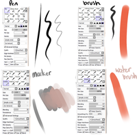 my brush settings by AwHellNo
