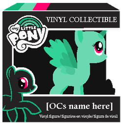 mlp base Funko vinyl figure by TwitterShy