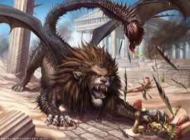 -Manticore- by arvalis