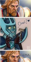 Beardless Omniknight - Dota 2 by JunKazama15