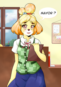 Isabelle [+timelapse] by Weepinbelly