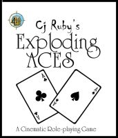 Exploding Aces Book Cover Simple Front Only by crimsonvermillion