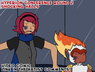 HC12-016- Round 2: Shocking Halls by SleepySketchu
